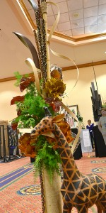 zoo arrangement at National Garden Clubs convention in Buffalo NY