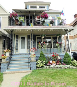 Buffalo in Bloom 2011 at 210 W. Ferry St., Buffalo NY