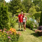 Goldthwait garden in Lancaster NY