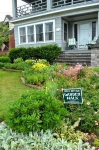South Buffalo garden walk 2012 front yard