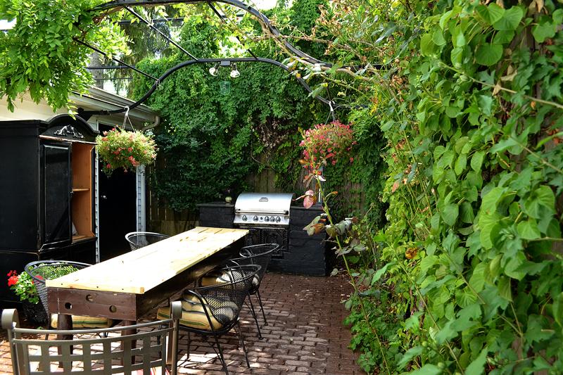 backyard room in Buffalo NY