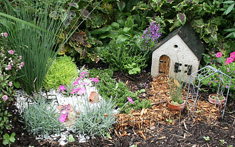 Mischler's fairy garden in Williamsville NY