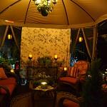 seating at night in Ken Ton NY