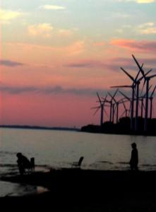 windmills at Woodlawn Beach Buffalo NY