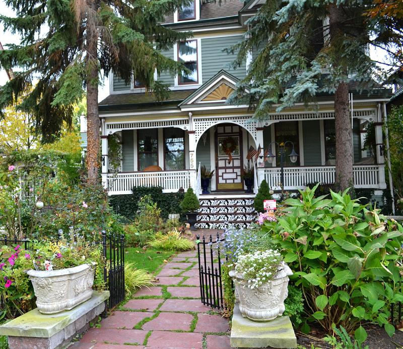 front view Guerico garden in Buffalo NY