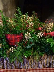 kitchen arrangement by garden club in Fort Niagara 2012