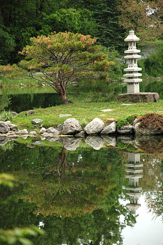 Japanese Garden in Buffalo NY