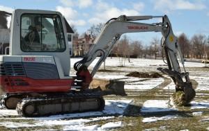 heavy machinery from WNYSNLA for planting trees in Buffalo NY