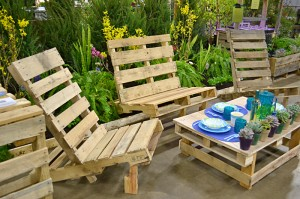 patio furniture from pallets in Western New York