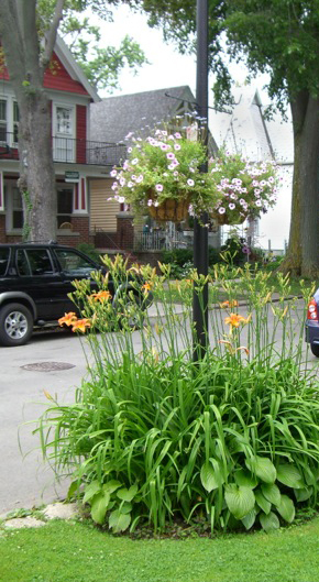 block planter project on 16th Street in Buffalo NY