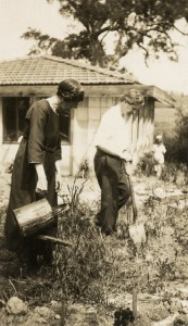 Marion Mahony Griffin and Walter Burley Griffin landscape architect