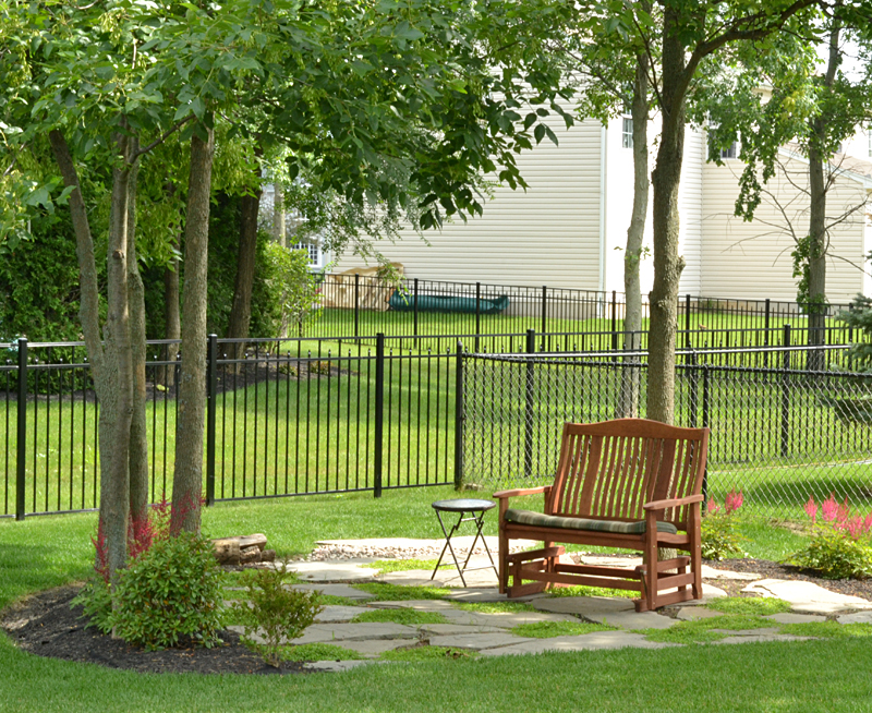Landscaping Under Elm Trees : Instead of gardens dominated by flowers debbie prefers a more natural