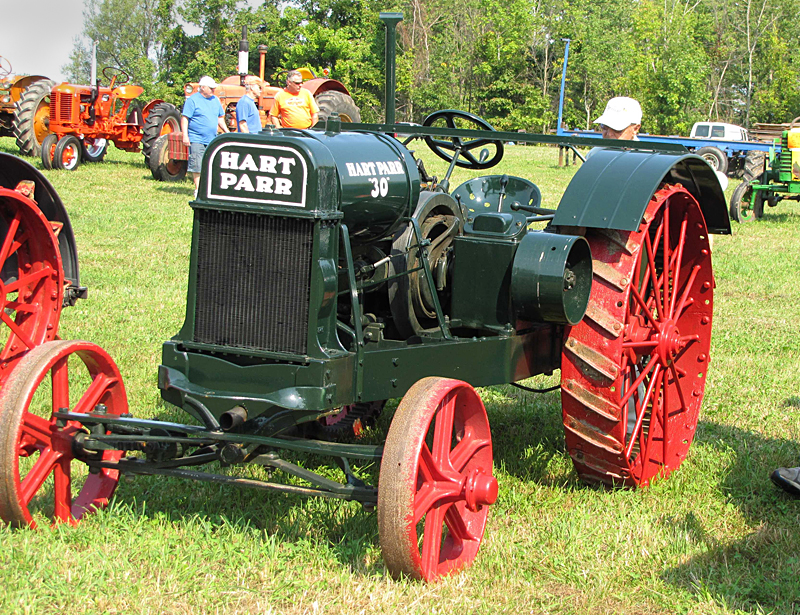 Hart Parr tractor at WNY Steam and Gas Power rally