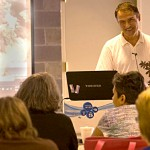 David Clark teaching class at Buffalo Botanical Gardens courtesy David Clark