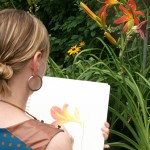 Plein Air Day at Mischler's Florist
