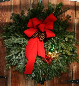 Traditional wreath from Mischler's