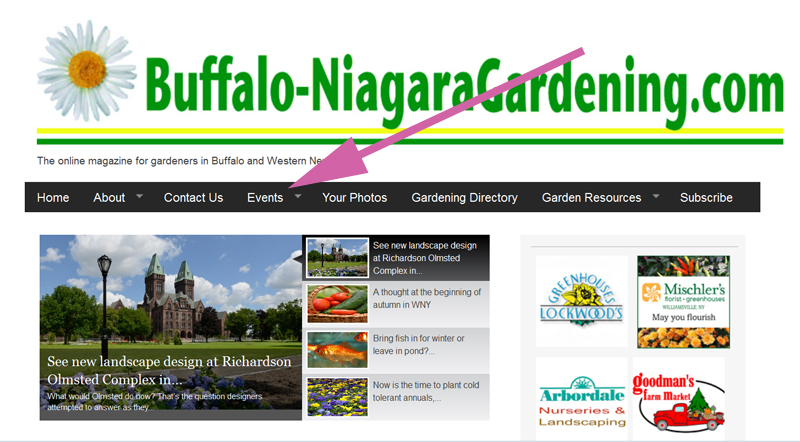 homepage BuffaloNiagaraGardening