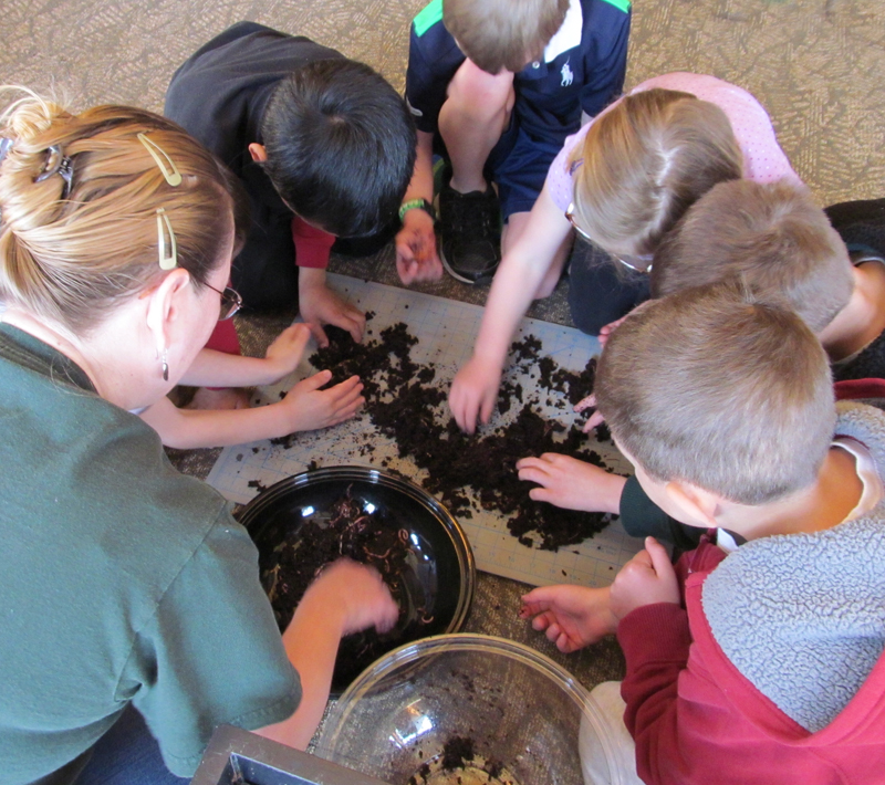 Learn how to compost indoors using worms– & get worms!– in workshop at Reinstein Woods