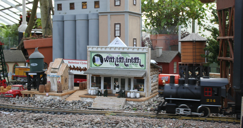 garden railway exhibit in Buffalo NY