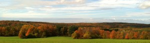 panoramic view of scenic overlook in Town of Aurora NY