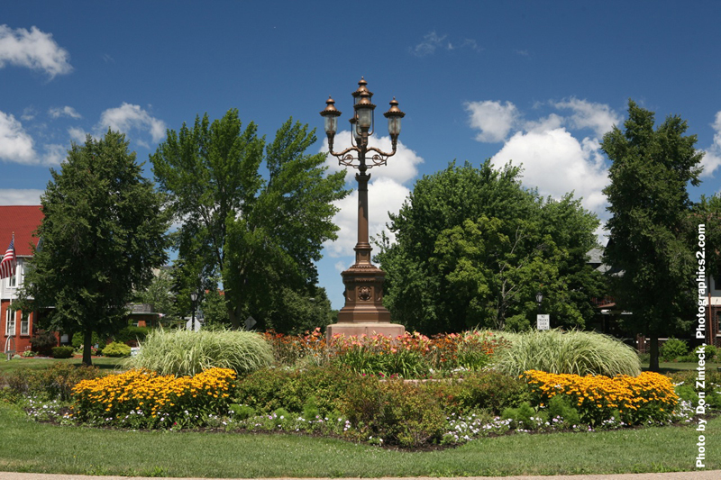 Buffalo Olmsted Parks Conservancy Ferry Circle Quadrant Project by Don Zinteck