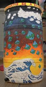 rain barrel student contest Western New York
