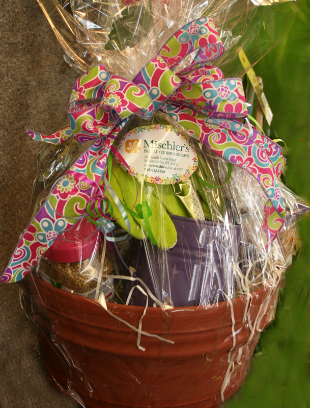 gift basket from Mischler's in Williamsville NY