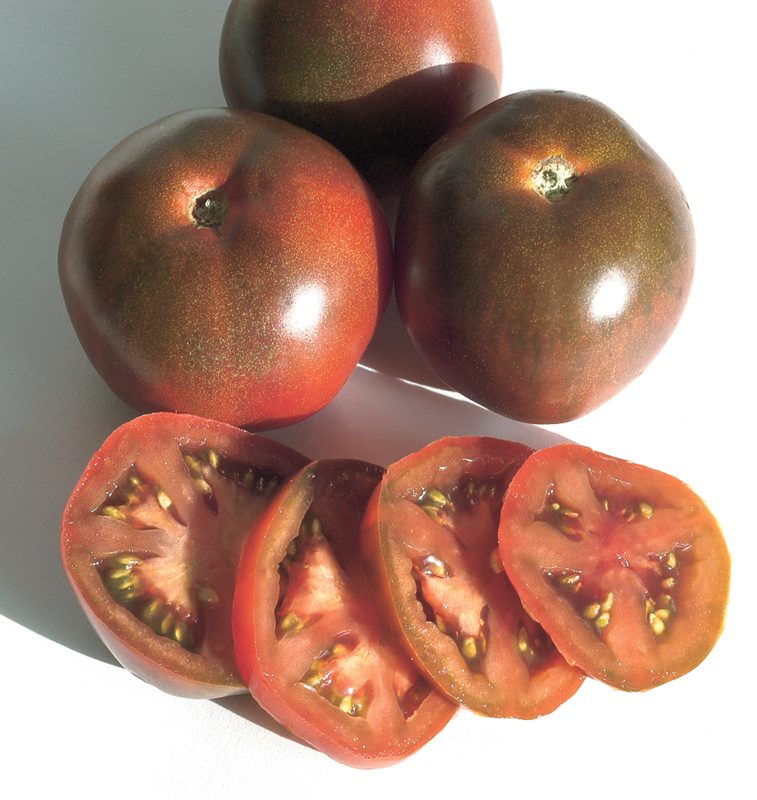 Tomato Black Prince courtesy Johnny's Select