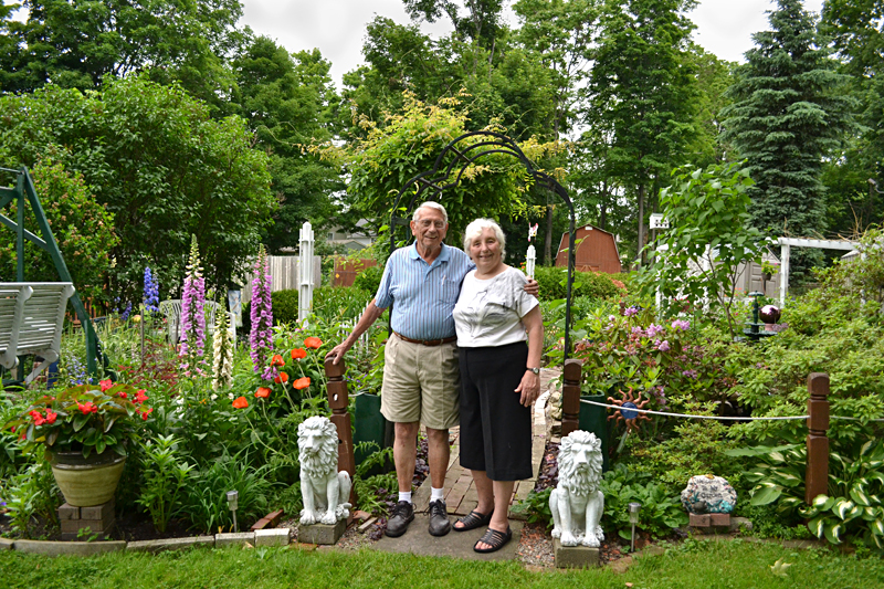 Ken and Shirley Haberman in Hamburg NY