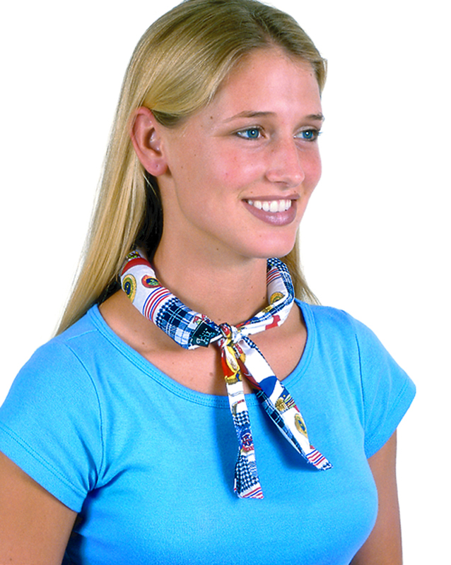 Beat the heat with this ingenious cooling neckwear from Lockwood's Greenhouses