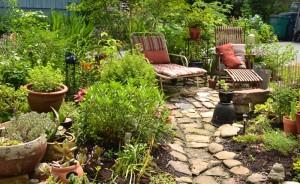 recycled cobblestone patio in Buffalo NY
