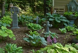 Celtic garden in Lockport NY