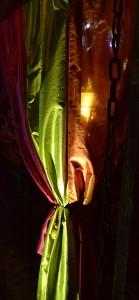 fabric canopy at night in Tonawanda NY