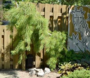 sculptural tree in Buffalo NY