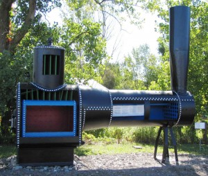 model of boiler at WNY Steam and Gas Engine rally