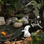 Haunted Lagoon fairy garden from Mischler's in Williamsville NY