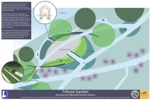 Tribute Garden rendering in Tonawanda NY