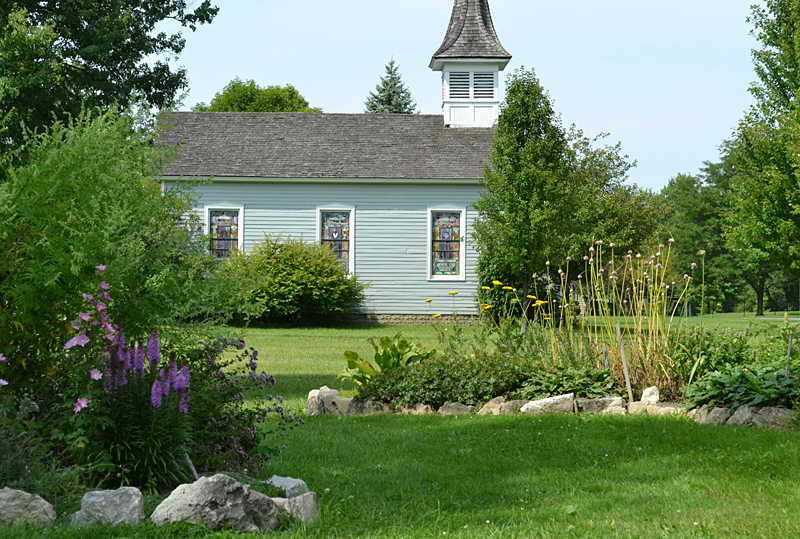 herb garden at Buffalo Niagara Heritage Village