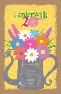 2014 Garden Walk Buffalo poster