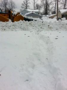 snow plow stuck Snowvember 2014 from David Clark Hamburg NY
