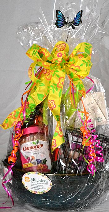 gift basket from Mischler's in Williamsville NY