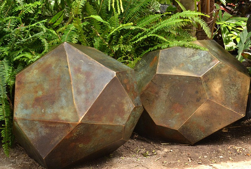 Shayne Dark Glacial Dropstones inside Buffalo Botanical Gardens photo by Stofko
