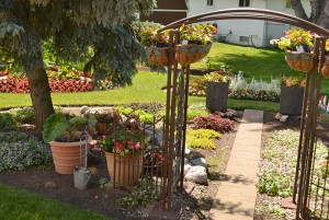 container plantings in West Seneca NY