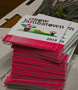 signs for Jamestown front yard recognition 2015