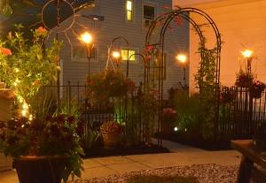 archway and gate in Tonawanda NY