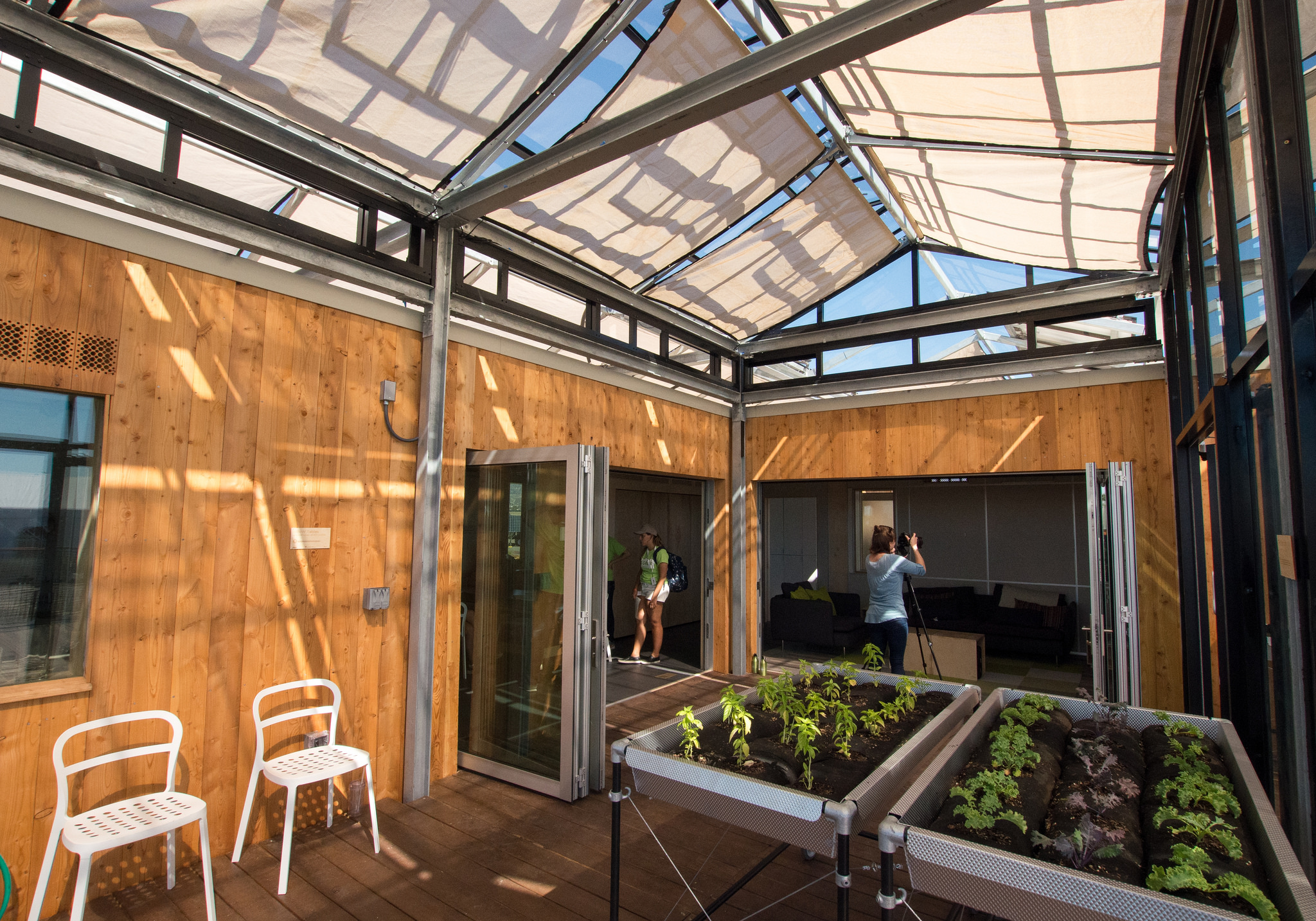 Geodesic Dome Home Dream House For Urban Gardeners Built By Ub Students Took