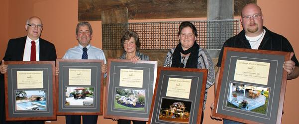 Landscape Awards from PLANT WNY