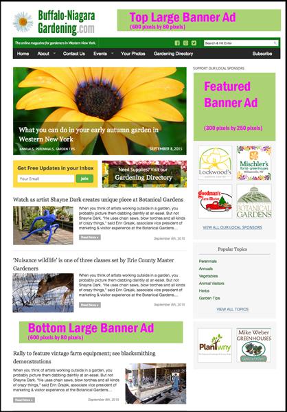 review look for BuffaloNiagaraGardening,com website