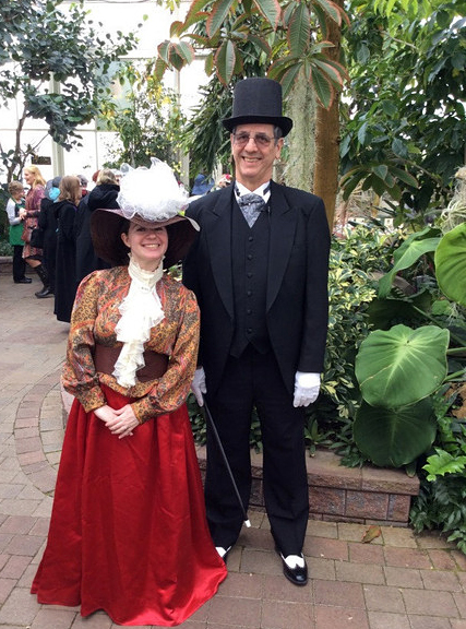 Victorian tour at Buffalo and Erie County Botanical Gardens