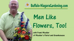 """Title for video """"Men Like Flowers, Too!"""""""